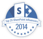 SharePointTop25Influencer