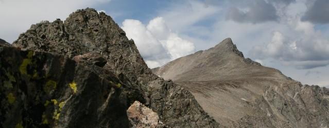 Pacific Peak Knife Edge Ridge