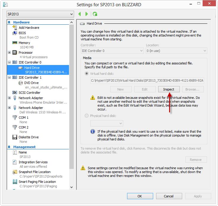 Fixing A Broken Hyper-V VHD Chain   Todd Baginski's Blog