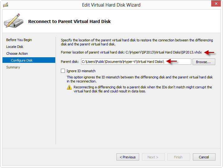 Fixing A Broken Hyper-V VHD Chain | Todd Baginski's Blog