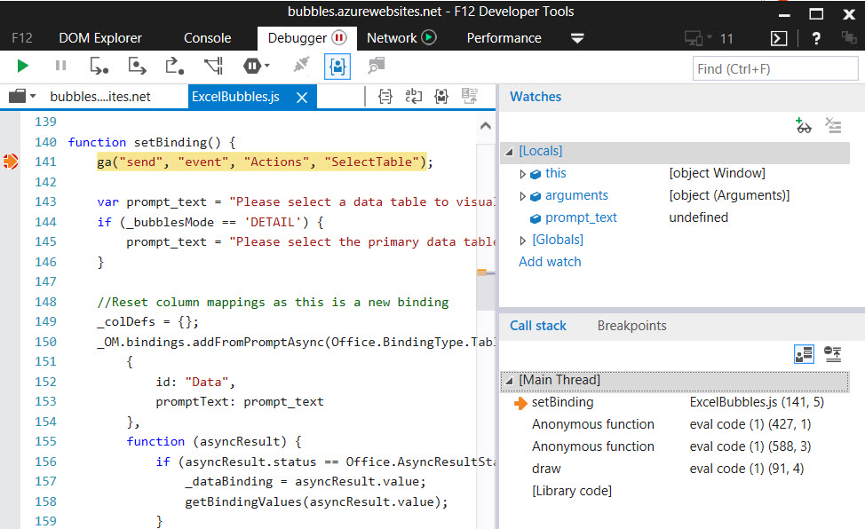 HOW TO: Debug Office Add-in In Office Clients Without Visual