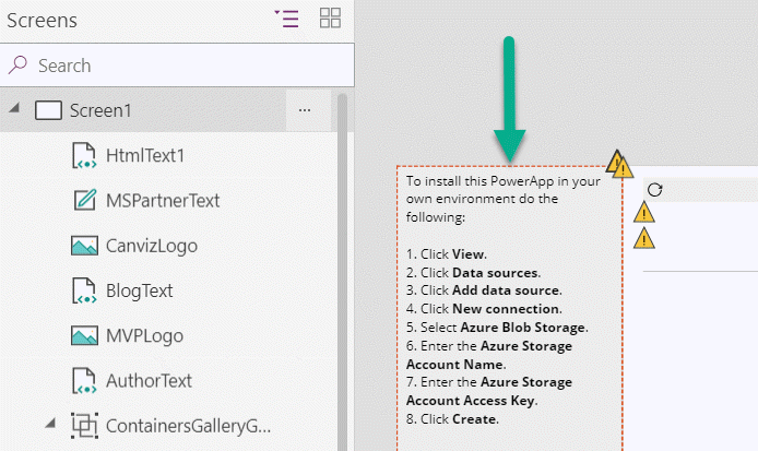 HOW TO: Work With Azure Blob Storage In PowerApps | Todd Baginski's Blog