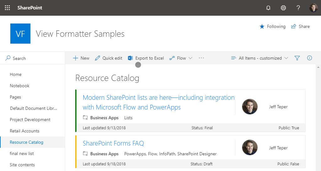 HOW TO: Create custom responsive SharePoint list views with