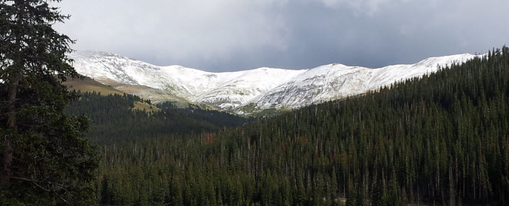 September 14 2013 Powder On Hoosier Pass