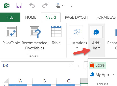 Office Add-in Button
