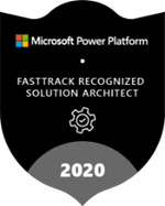 Microsoft FastTrack Recognized Solution Architects – Power Platform Logo